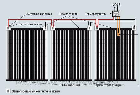 Пленочный теплый пол CALEO PLATINUM 220 Вт/м2, 6,0 м2, фото 2