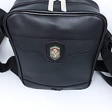 Сумочка через плечо мужская чоловіча шкіряна кожаная барсетка сумка на, фото 3