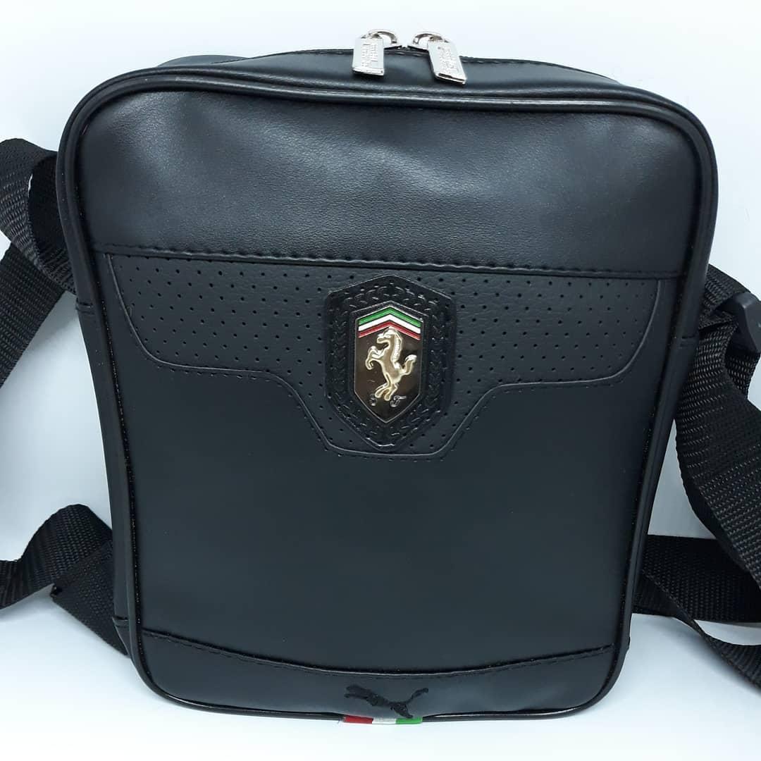 Сумочка через плечо мужская чоловіча шкіряна кожаная барсетка сумка на