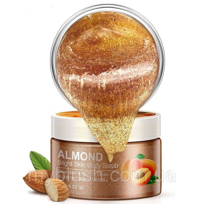 Cкраб для тела с маслом миндаля BioAqua Almond Bright Skin Body Scrub 120 g