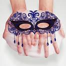 Маска для лица BioAqua Masquerade Mask (синяя) увлажнение, омоложение для проблемной кожи, фото 2