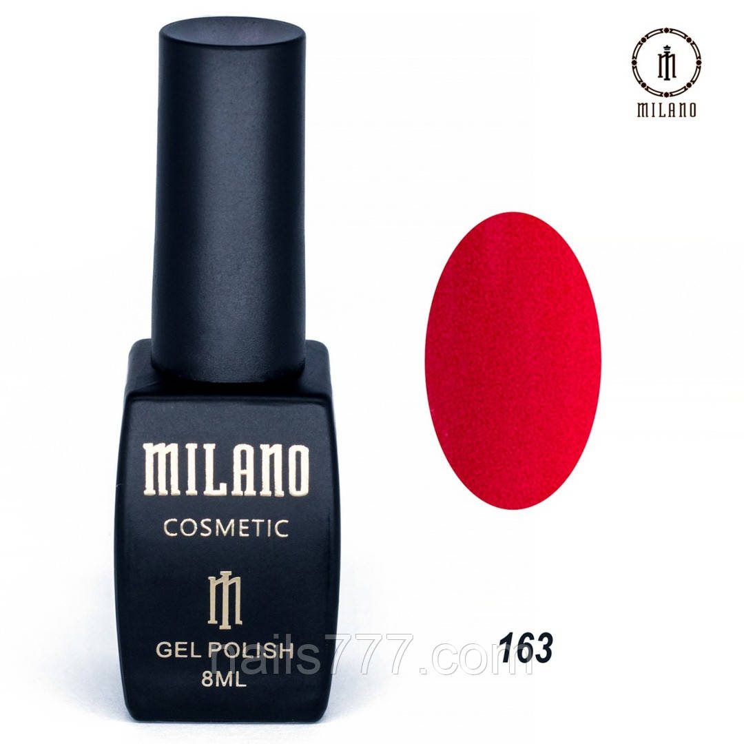Гель-лак Milano 8 мл, № 163