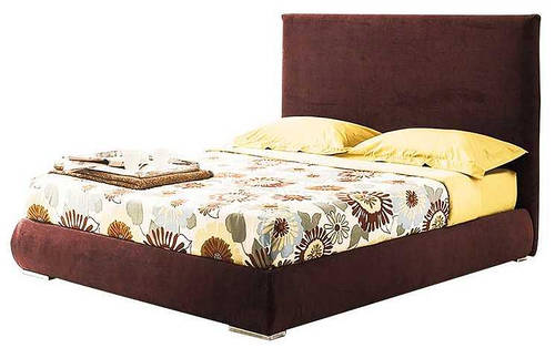Ліжко з м'якою спинкою Канзас (160 х 200) КІМ