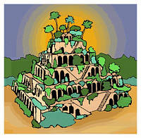 Висячие сады семирамиды или вертикаль в ландшафтном дизайне