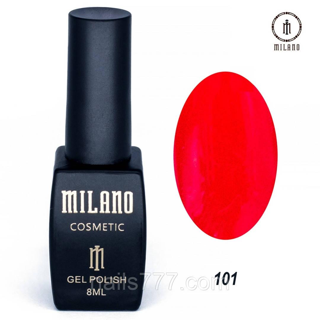 Гель-лак Milano 8 мл, № 101