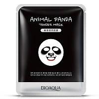 Смягчающая тканевая маска для лица с принтом Панда BIOAQUA Animal Panda Supple Mask