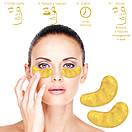"""Маска под глаза кристальный коллаген золото """"Collagen Crystal Gold Eyes Mask"""", фото 4"""