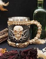 Кружка подарочная с черепами №1