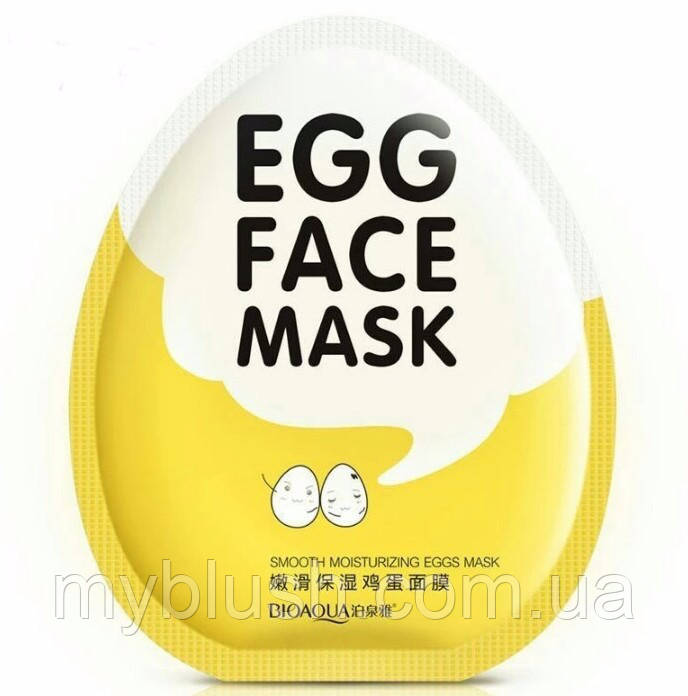 Маска Bioaqua Facial Egg Face Mask