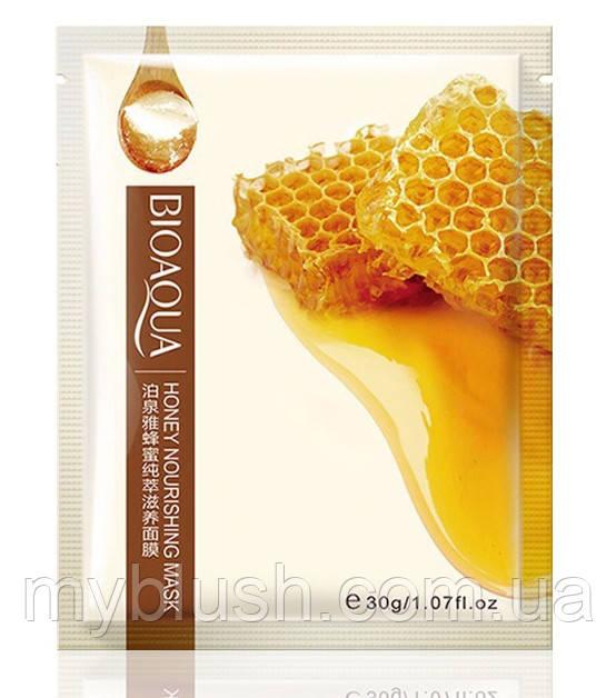 Маска Bioaqua медовая увлажняющая шелковая маска 30 g