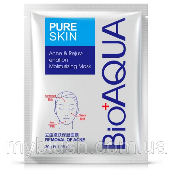 Маска Bioaqua Pure Skin Acne Rejuvenation Moisturising Mask