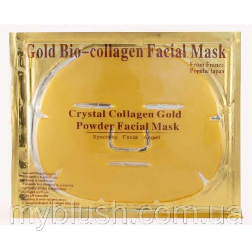 Маска для лица COLLAGEN CRYSTAL кристальный коллаген (золото)