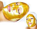 Маска для лица COLLAGEN CRYSTAL кристальный коллаген (золото) , фото 2