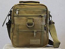 Тактическая универсальная сумка на плечо Silver Knight с системой M.O.L.L.E (102 песок), фото 2