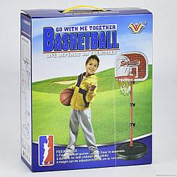 Игровой спортивный набор, уличная стойка Баскетбол, код 777-439