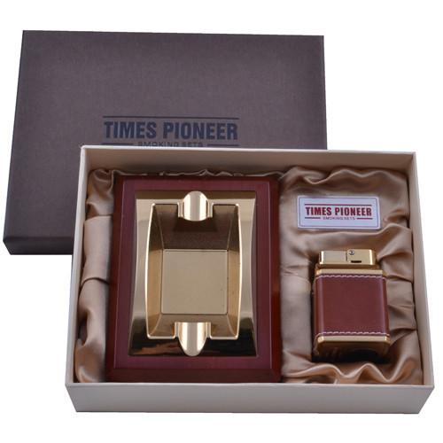 Подарочный набор Pioneer 2в1 пепельница и зажигалка №3620