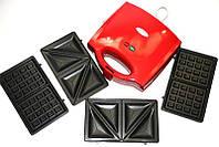 Тостер универсальный Wimpex 3в1 WX1056, фото 1
