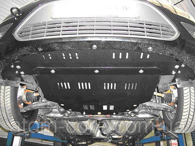 Защита двигателя и КПП на Мазда 323 (Mazda 323) 1998-2003 г (металлическая)