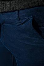 Брюки мужские стильные, приятный материал 08P130 (Темно-синий), фото 3