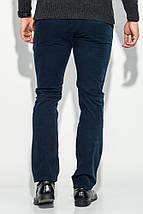 Брюки мужские модные, стрейч 08P131 (Сине-серый), фото 3