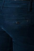 Брюки мужские модные, стрейч 08P131 (Сине-серый), фото 2