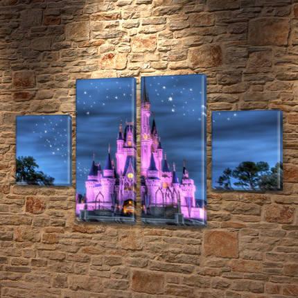 Модульная триптих картина Королевский дворец  80x130 см, (40x30-2/80х30-2), фото 2