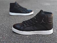 Кроссовки-кеды Nike Air Jordan (черные)