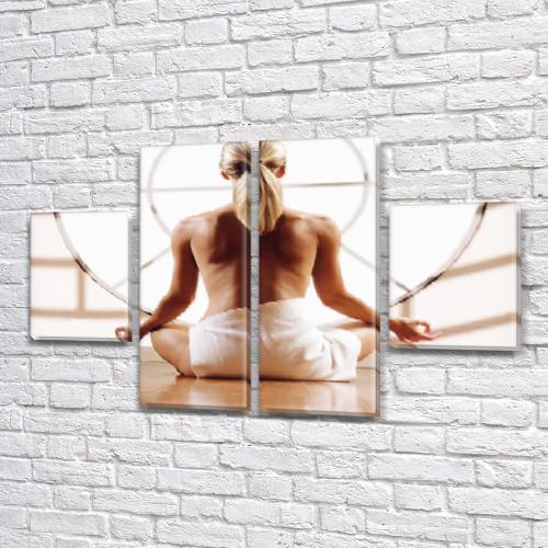 Картины модульные на Холсте, 80x130 см, (40x30-2/80х30-2)