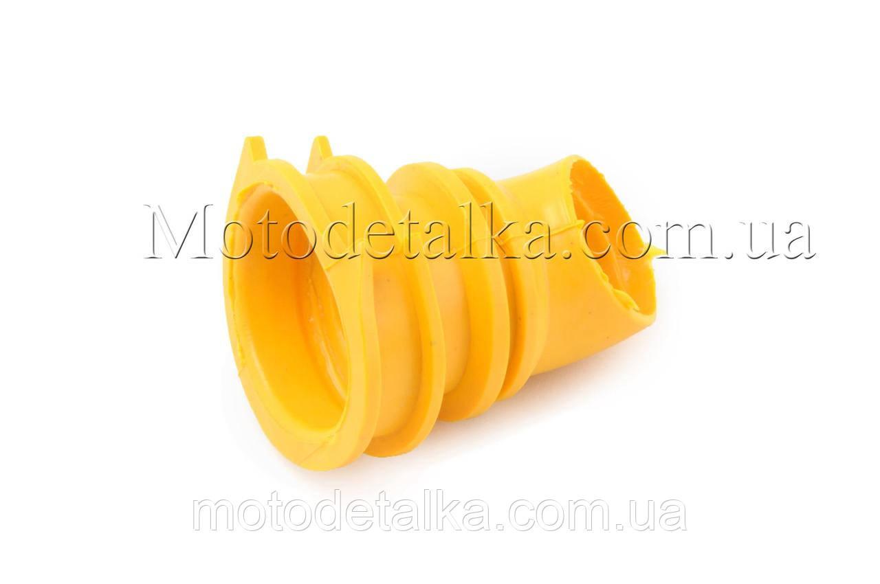 Патрубок воздушного фильтра Honda DIO AF34/35 (желтый) KOMATСU