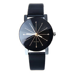 Женские часы стильные с граненым циферблатом