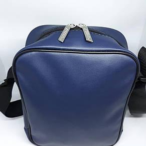 Сумочка через плечо мужская чоловіча шкіряна кожаная барсетка сумка на, фото 2