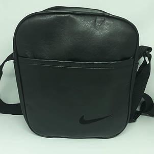 Сумка чоловіча мужская кожаная шкіряна через на плечо барсетка Барсетка сумка мужская  месенджер! Nike/Reebok, фото 2