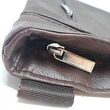 Сумка чоловіча мужская кожаная шкіряна через на плечо барсетка Gucci сумка мужская через плечо месенджер! , фото 2
