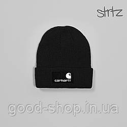 Шапка Carhartt черного цвета  (люкс копия)