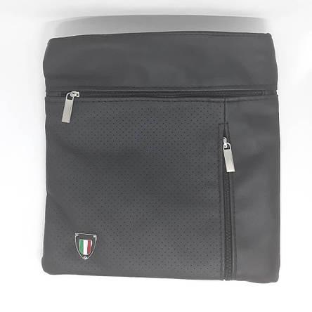Сумка чоловіча мужская кожаная шкіряна через на плечо барсетка Italia сумка мужская через плечо месенджер!, фото 2