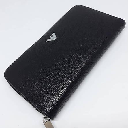 Стильный мужской бумажник (портмоне, кошелек, клатч) с гербом, фото 2