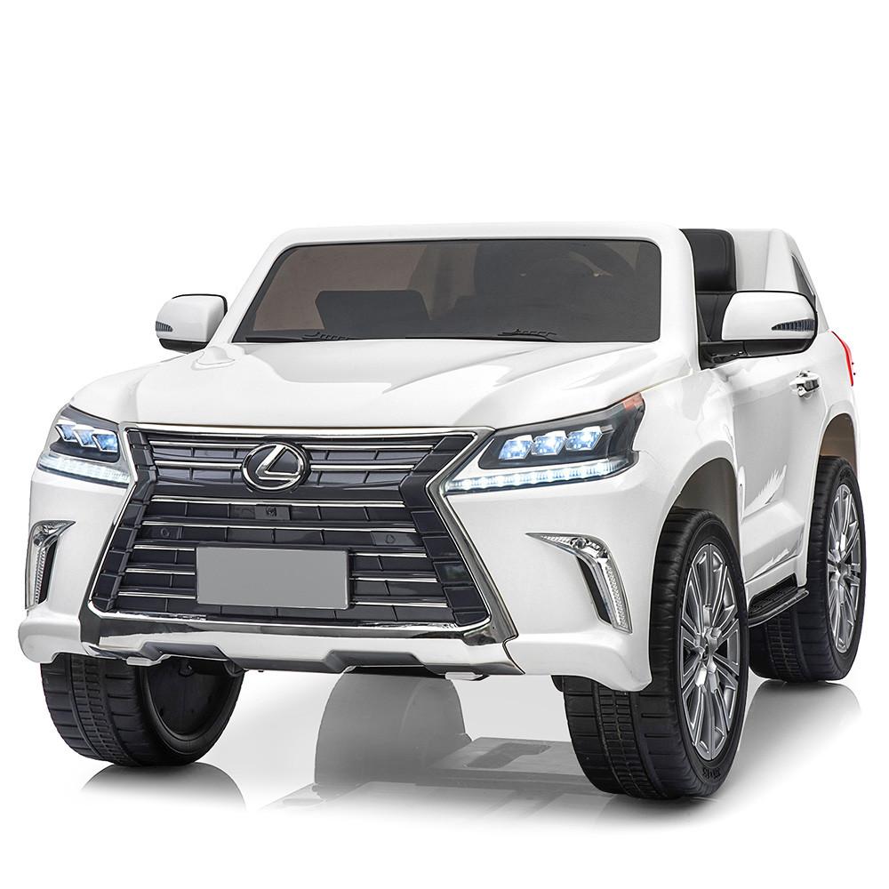 Дитячий електромобіль Lexus LX 570 M 3906(MP4)EBLR-1 білий