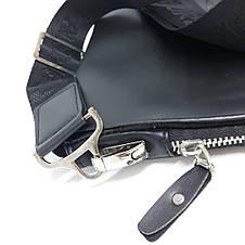 Сумка чоловіча мужская кожаная Gorgio Armani шкіряна через на плечо барсетка сумочка мужская плече месенджер, фото 2