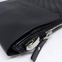 Сумка чоловіча мужская кожаная Gorgio Armani шкіряна через на плечо барсетка сумочка мужская плече месенджер, фото 3