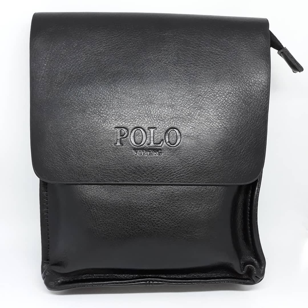 Сумка чоловіча мужская кожаная Polo Videng шкіряна через на плечо барсетка сумочка мужская плече месенджер