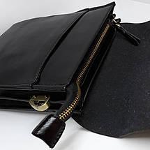 Сумка чоловіча мужская кожаная Polo Videng шкіряна через на плечо барсетка сумочка мужская плече месенджер, фото 3