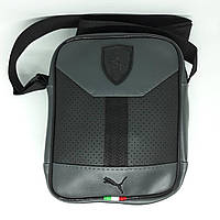 Сумка чоловіча мужская кожаная Ferrari шкіряна через на плечо барсетка  сумочка мужская через плечо месенджер 577fef2b37807