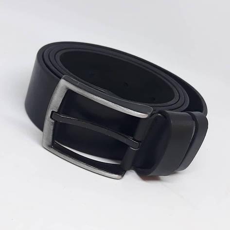 Мужской кожаный ремень чоловічий ремінь шкіряний ручной работы пояс, фото 2