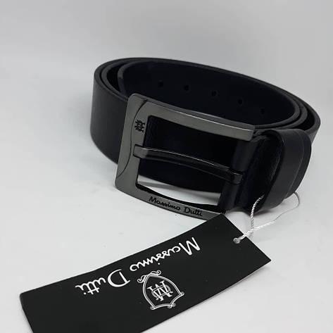 Мужской кожаный ремень чоловічий ремінь шкіряний Massimo Dutti пояс, фото 2
