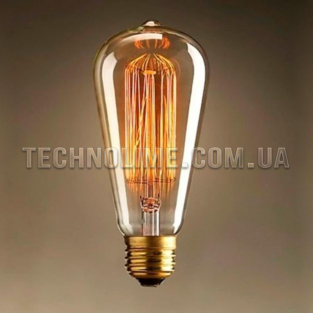Лампа накаливания Эдисона ST64 цоколь E27