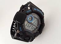 Часы мужские G-Shock - мультифункциональные, синий, противоударные, фото 1