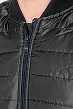 Куртка мужская демисезон 491F003 (Черно-бордовый), фото 2