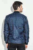 Куртка мужская демисезон 491F003 (Сине-изумрудный), фото 2