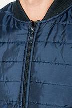 Куртка мужская демисезон 491F003 (Сине-изумрудный), фото 3