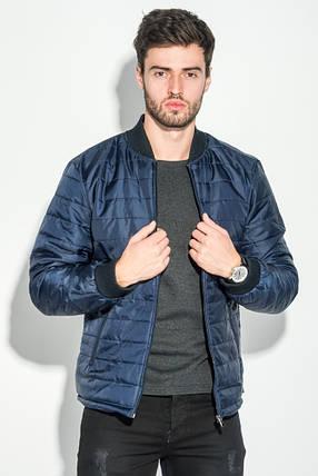 Куртка мужская демисезон 491F003 (Сине-бордовый), фото 2